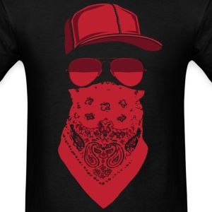 red blood gang member  T-Shirts - Men's T-Shirt
