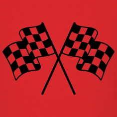 Checkered Flag 1 color T-Shirts
