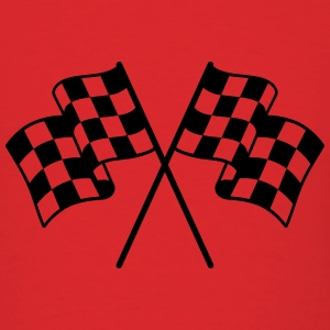 Checkered Flag 1 color T-Shirts - Men's T-Shirt