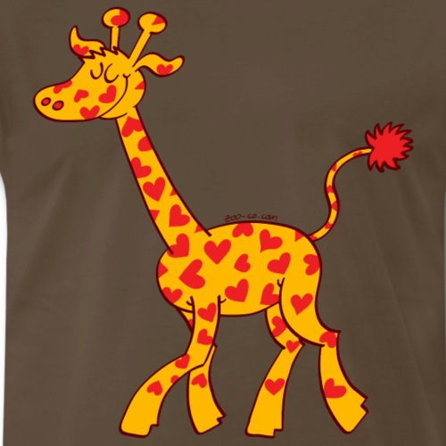 Heart Spotted Giraffe