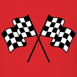 Checkered Flag 2 color T-Shirts - Men's T-Shirt