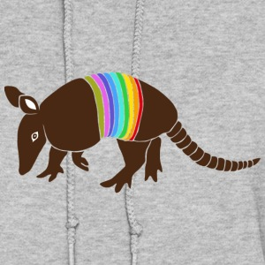 armadillo texas turkey hillbilly rainbow Hoodies - Women's Hoodie