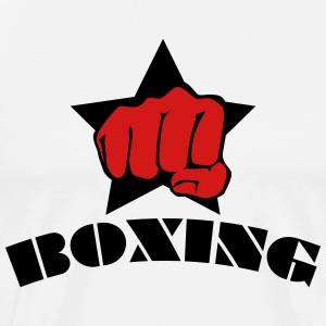 Boxing star fight club kick boxen box 2c Mens Tee - Men's Premium T-Shirt