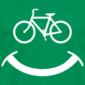 Bicycle Smile T-Shirts - Men's Premium T-Shirt