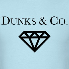 Dunks & Co. Tiffany Dunks Diamond Shirt T-Shirts