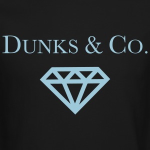 Dunks & Co. Tiffany Dunks Diamond Shirt Long Sleeve Shirts - Crewneck Sweatshirt