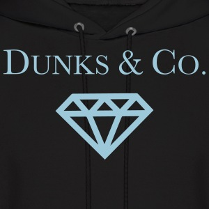 Dunks & Co. Tiffany Dunks Diamond Shirt Hoodies - Men's Hoodie
