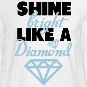 Tiffany Dunks Shine Bright Like A Diamond Shirt Long Sleeve Shirts - Men's Long Sleeve T-Shirt
