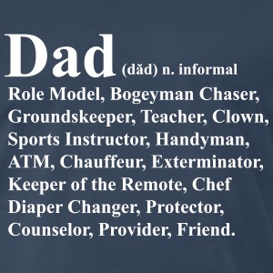 Dad Definition T-Shirts - Men's Premium T-Shirt