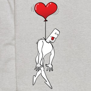 Man Hanged by a Heart Balloon Sweatshirts - Kids' Hoodie