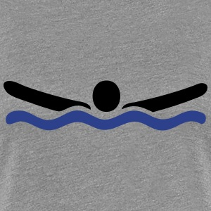 swimming Women's T-Shirts - Women's Premium T-Shirt