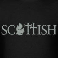 Design ~ Scottishigan - Black w/ Silver