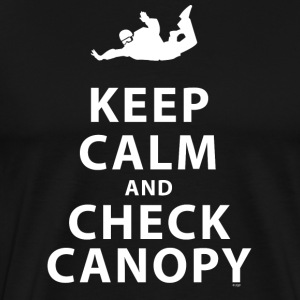 KEEP CALM AND CHECK CANOPY 4 - Men's Premium T-Shirt