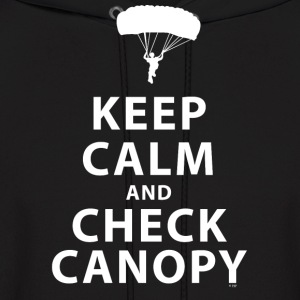KEEP CALM AND CHECK CANOPY 2 - Men's Hoodie