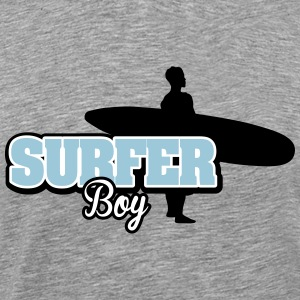 Surfer Boy T-Shirts - Men's Premium T-Shirt