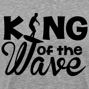 king of the wave T-Shirts - Men's Premium T-Shirt