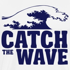 catch the wave T-Shirts