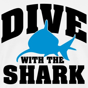 Dive with the shark T-Shirts - Men's Premium T-Shirt