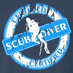 Certified Scubadiver T-Shirts