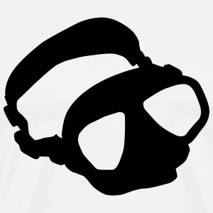 diving mask T-Shirts - Men's Premium T-Shirt