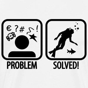 Diving: Problem - Solved T-Shirts - Men's Premium T-Shirt