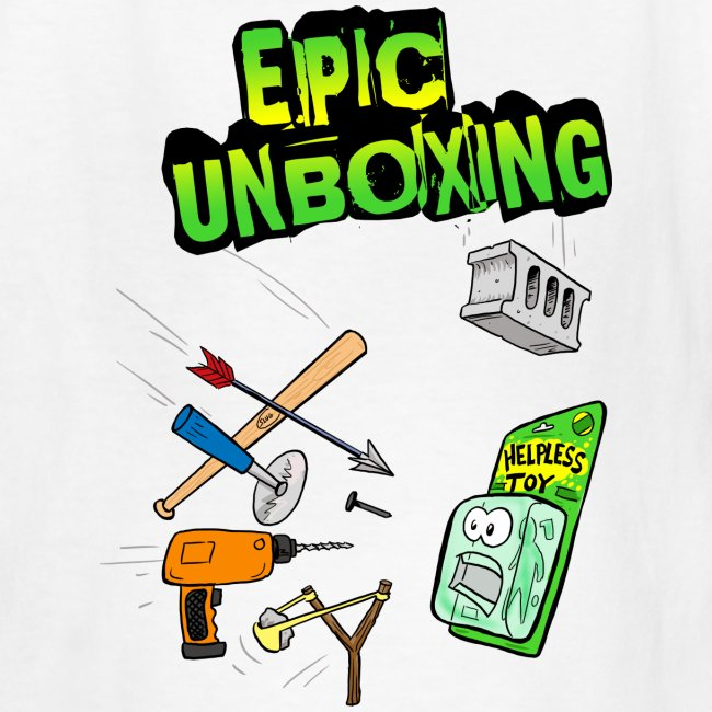 Epic Unboxing Kids T-Shirt