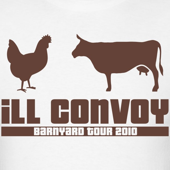 iLL CONVOY - BROWN CHICKEN BROWN COW T-Shirt