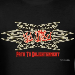 Jiu Jitsu - Path To Enlightenment - Men's T-Shirt