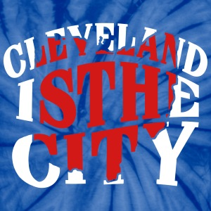 Cleveland The City T-Shirts - Unisex Tie Dye T-Shirt