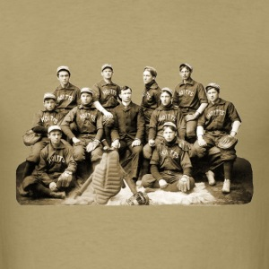 Vintage California Baseball Team Photo T-Shirts - Men's T-Shirt