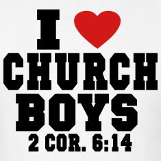 I LOVE CHURCH  BOYS T-Shirts