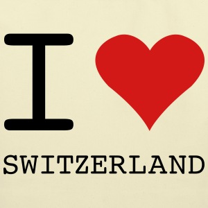 I LOVE SWITZERLAND - Eco-Friendly Cotton Tote