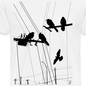 AD Birds T-Shirts - Men's Premium T-Shirt