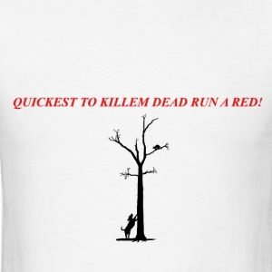 Run A Red T-Shirts - Men's T-Shirt