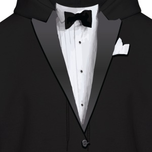 Tuxedo Jacket Costume T-shirt Hoodies - Men's Hoodie