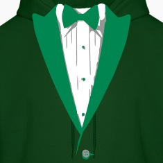 Custom Color Tuxedo Tshirt Hoodies
