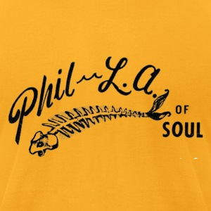 Phil-L.A. of Soul - black T-Shirts - Men's T-Shirt by American Apparel