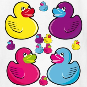 12 Rubber Ducks funny Love Kids Baby Babies Tee - Kids' T-Shirt