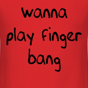 finger bang - Men's T-Shirt