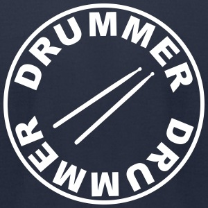 Drummer - drumsticks T-Shirts - Men's T-Shirt by American Apparel