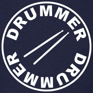 Drummer - drumsticks T-Shirts - Men's T-Shirt