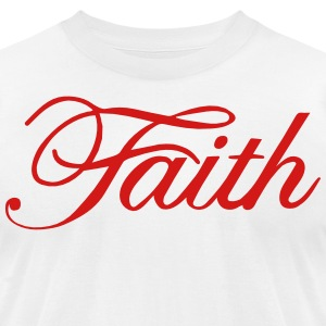 FAITH T-Shirts - Men's T-Shirt by American Apparel