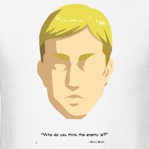 Attack on Titan: Erwin Smith Quote T-Shirts - Men's T-Shirt