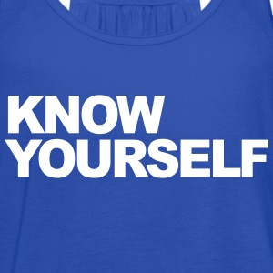 Know Yourself Tanks - Women's Flowy Tank Top by Bella