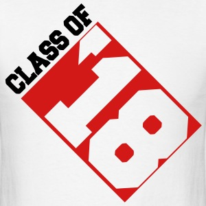 Class of '18 Invert T-Shirts - Men's T-Shirt