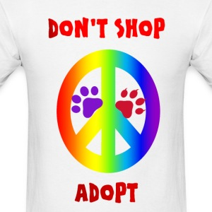 DON'T SHOP ADOPT - Men's T-Shirt
