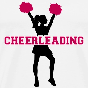 Cheerleading T-Shirts - Men's Premium T-Shirt