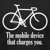Mobile Device - Men's T-Shirt by American Apparel