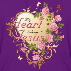 My Heart Belongs To Jesus Hoodies - Women's Hoodie