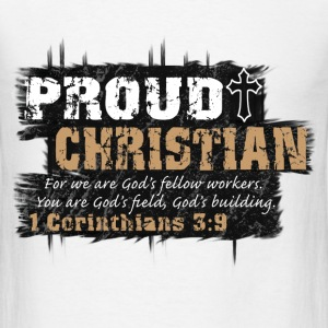 Proud Christian T-Shirts - Men's T-Shirt